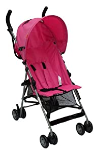 Babyco Zippy 2 Position Stroller (Hot Pink)
