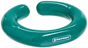 "Bel-Art Scienceware 183084000 ""C"" Shape Open Lead Ring with Vikem Vinyl Coating, 114mm OD x 76mm ID"