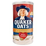 Quaker OATS Old Fashioned CANNISTER heart healthy 510g 18oz (RED)