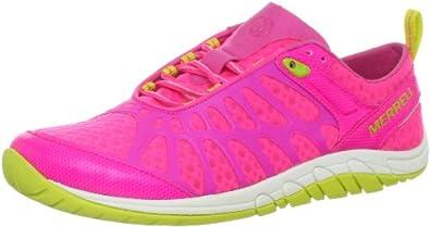 Merrell Women's Crush Glove Minimalist Cross-Training Shoe,Pink,6 M US
