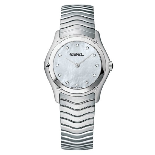 Ebel Women's 9256F21/9925 Classic Mother-Of-Pearl Dial Diamond Watch