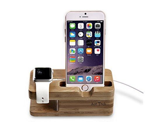 【ACETECH】Apple watch / Iphone 充電スタンド 2in1充電スタンド Apple watch 38mm / Apple watch 42mm / Iphone 6 plus / Iphone 6 / Iphone 5s 対応