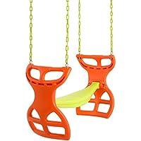 Swingan Two-Seater Glider Swing (Orange)