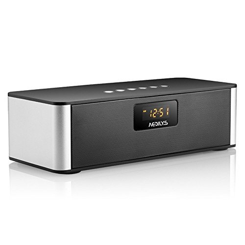 Top 10 Best Bluetooth Stereo Speakers With Alarm Clock 2016-2017 - cover