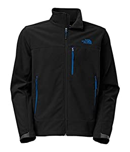 Men's The North Face Apex Bionic Jacket Black/Blue Size XX-Large by The North Face
