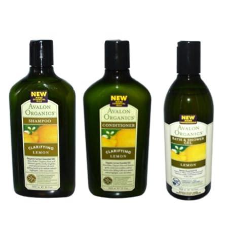 Lemon shampoo and conditioner