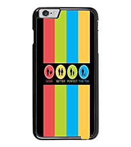 PrintDhaba Logos D-4034 Back Case Cover for APPLE IPHONE 6 PLUS (Multi-Coloured)