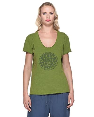 Rip Curl T-Shirt Amanda Tee [Verde]