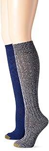 Gold Toe Women's Argyle Wool Texture…