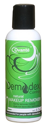 Demodex Control - Specifically Formulated Makeup Remover for Demodex Prone Skin - 4.0 Oz (Mite Remover compare prices)
