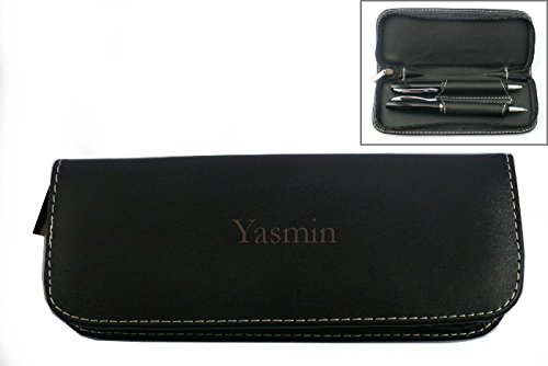 pen-set-in-custom-engraved-leatherette-holder-with-name-yasmin-first-name-surname-nickname