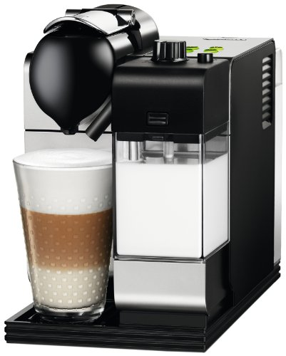 Delonghi EN520.S Nespresso Lattissima Plus Coffee Maker, Silver