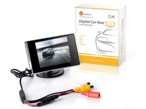 Taotronics® Tt-Cm01 3.5-Inch Digital Tft Lcd Car Rear View Monitor For Reverse Backup Camera