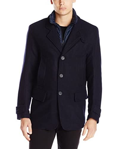 Marc New York Men's Albany 29.5″ Blazer with Removable Bib