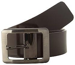 Jackblack Men's Leather Belt (SEVP007, Brown, 34)