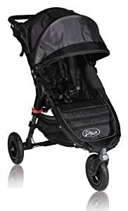 Baby Jogger City Mini GT Single Stroller, Black/Shadow