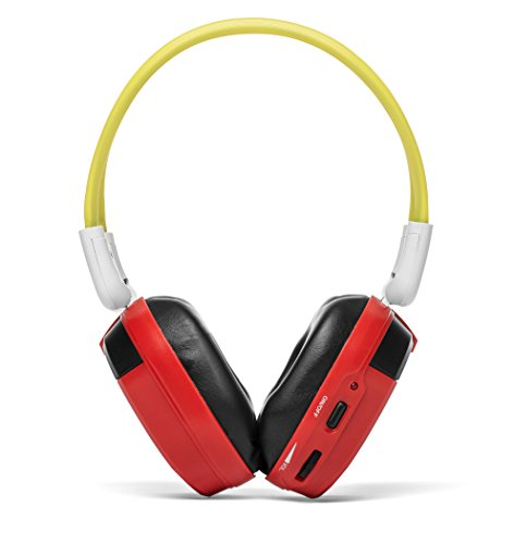 Bravo View IH-06A - KID FRIENDLY Automotive IR Wireless Headphones (Red) (Honda Wireless Headphones compare prices)