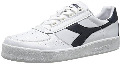 Diadora B. Elite Tennis Shoe,White/Blue Denim/Blue Denim,11.5 M US