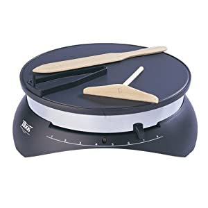 World Cuisine 13-Inch Diameter Tibos Electric Crepe Maker