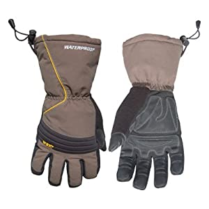 Youngstown Glove 11-3460-60-L Waterproof Winter XT 200 gram Thinsulate Waterproof Glove, Gray and Black, Large