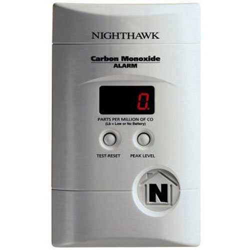 Kidde KN-COEG-3 Nighthawk Plug-In Carbon Monoxide and Explosive Gas Alarm with Battery Backup (Gas Detector compare prices)