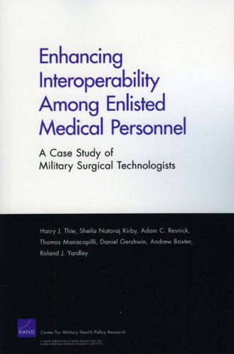 Enhancing Interoperabillity Among Enlisted Medical Personnel