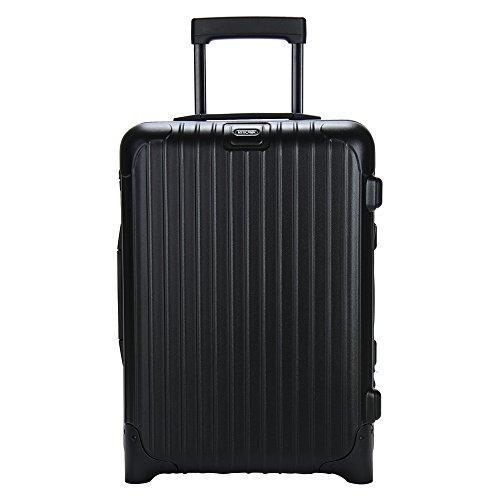 (リモワ)RIMOWA サルサ 833.52 83352 キャビントローリー イアタ 2輪 ブラック CABIN TROLLEY IATA 33L (810.52.32.2)並行輸入品