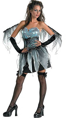 DARK ANGEL frost fairy womens sexy nymph wings halloween costume 12 14 LARGE