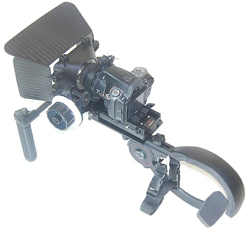 DSLR Rig Shoulder mount Pad Steady Rig fr 7D 5D GH2 GH1 D60 PD150 EX3 EX1 550D