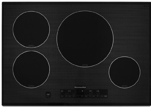 KitchenAid Architect Series II KICU508SBL 30 Induction Cooktop - Black