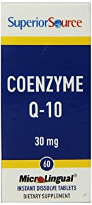 Superior Source Coenzyme Q-10 Nutritional Supplements, 30 Mg, 60 Count