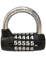 Cadenas à code 5 chiffres BaouRouge 65mm (Noir)