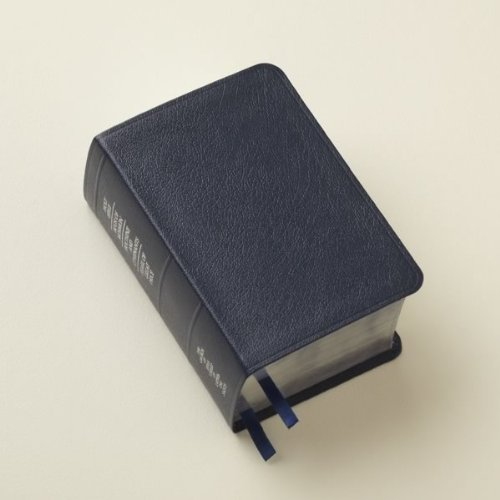 LDS Scriptures - Holy Bible, Book of Mormon, Doctrine and Covenants, Pearl of Great Price (Compact Quad) Blue Bonded Leather (Lds Compact Quad compare prices)
