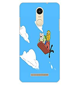 XIAOMI REDMINOTE 3 CARTOONS Back Cover by PRINTSWAG