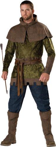 InCharacter Costumes Men's Robin Hood Of Nottingham Costume, Green/Brown, Medium