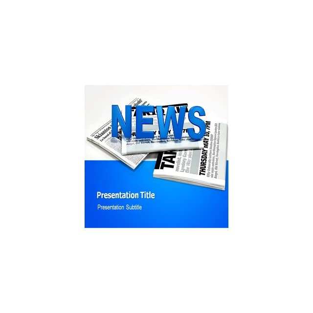 Journalism Powerpoint Templates Background For Journalism
