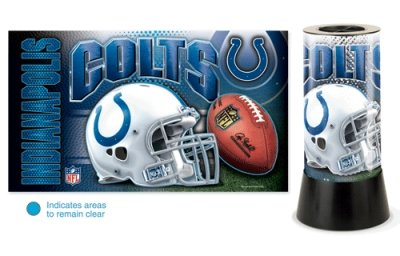 Indianapolis Colts Rotating Desk Lamp at Amazon.com