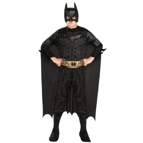 Batman Dark Knight Rises Child's Batman Costume with Mask and Cape