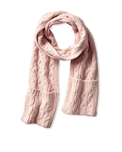 Kate Spade Saturday Women's Cable Knit Pocket Scarf, Pale/Blush