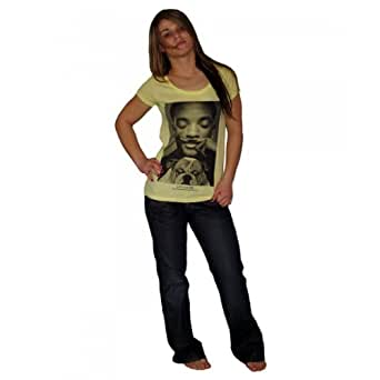 Eleven Paris - Tee Shirt Eleven Paris Wolly W Will Smith Jaune Lemongrass (xs)