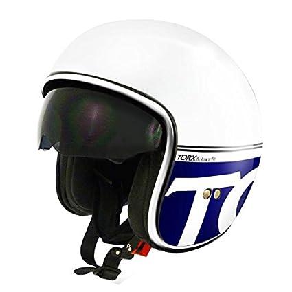 Casque Moto Jet Harry Bleu Taille M