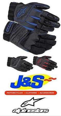 Gants moto été Alpinestars AFK MX tout-terrain en cuir gants moto manchette courte J & S