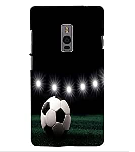 ColourCraft Football Design Back Case Cover for ONEPLUS TWO