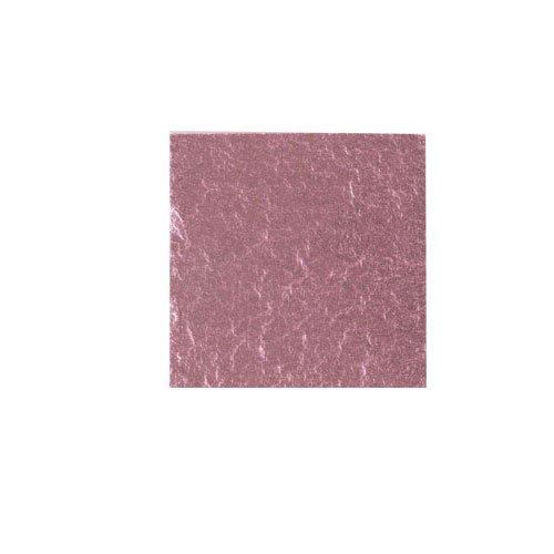 カラー純銀箔 #609 桜色 3.5㎜角×5枚