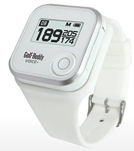 GolfBuddy Voice+ GPS Rangefinder Watch - White