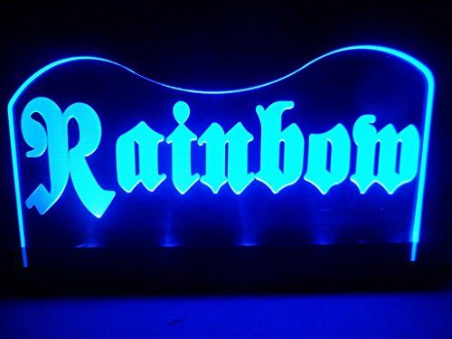 Rainbow Band Music Hard Rock Led Light Desk Lamp Night Light Beer Bar Bedroom Game Room Signs front-16333