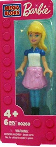 """Mega Bloks Blond Barbie 2.5"""" Mini Figure - 1"""