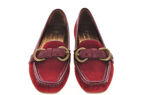 Cheap Coach A2696 Sharin Kidskin Soft Suede Leather Loafers Shoes (B003XK5JBE)