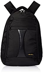 Travel Black 15 Inches Laptop Backpack - Large