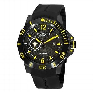 Stuhrling Original Men's 320.335665 QuarterMaster ADM Automatic Black Watch